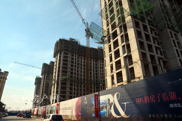2月26日上东国际最新实拍-定州工程进度-定州房产网
