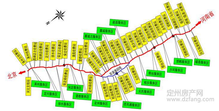 定州地图市区地图