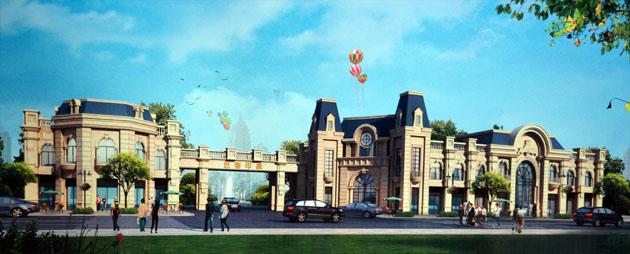 巴黎印象,是由河北香江房地产及定州正华房地产联合打造,项目位于中兴