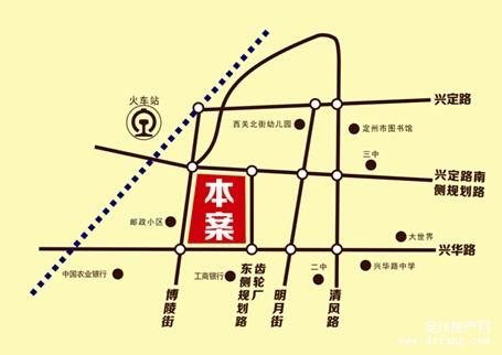3d地图高清街景定州