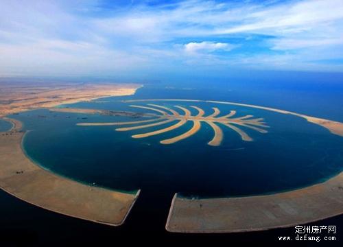 英房产商欲打造另一个迪拜棕榈岛