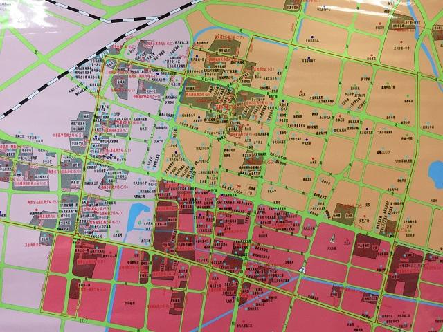 定州地图高清版
